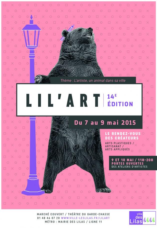 Lil'Art - affiche 2015